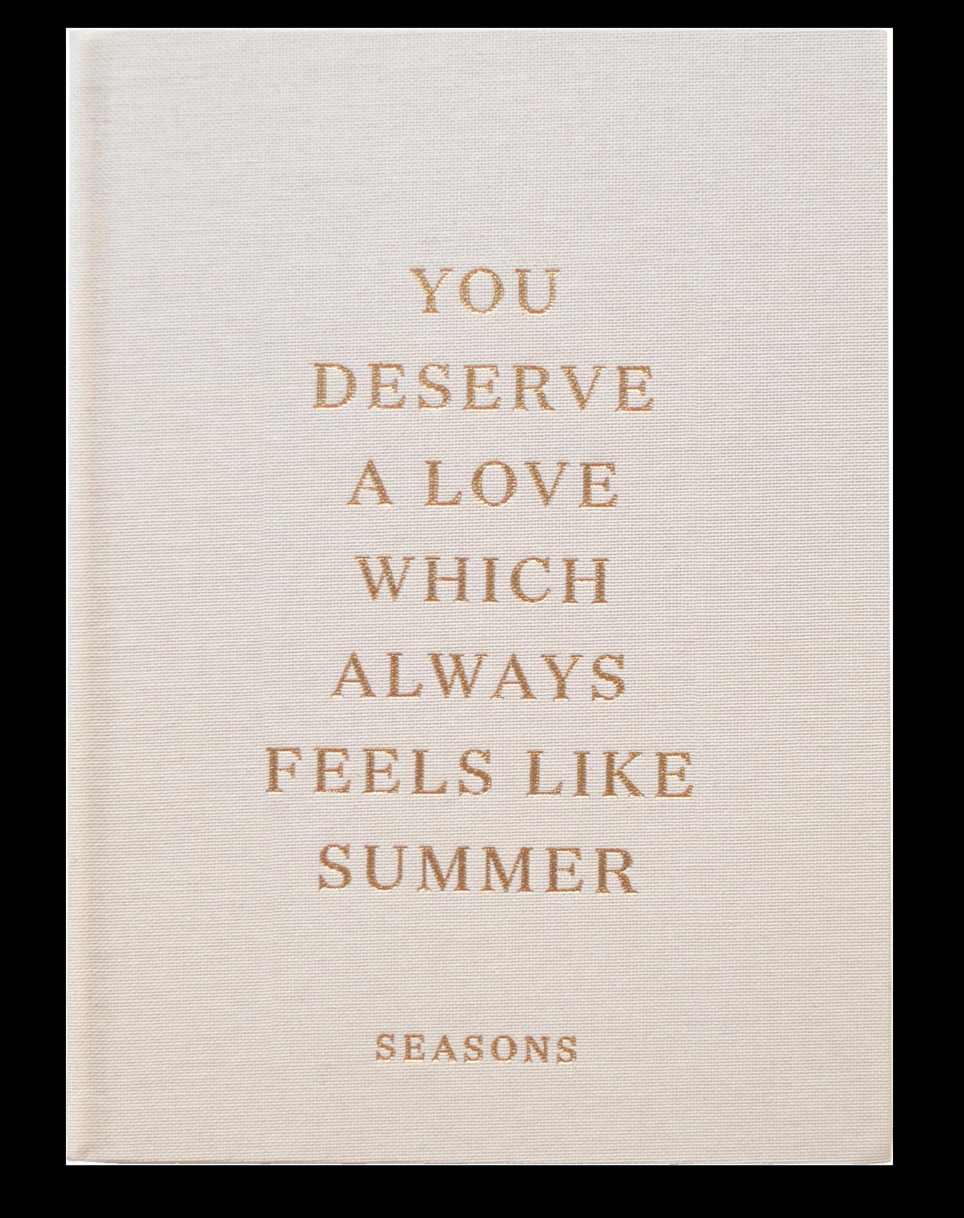Seasons Coffee Table Book
